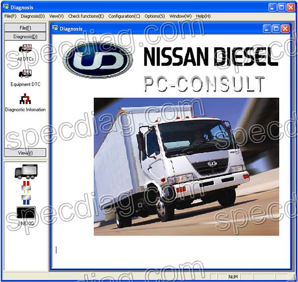 UD VCADS   Nexiq USB-Link   Nissan UD DataLink   Python