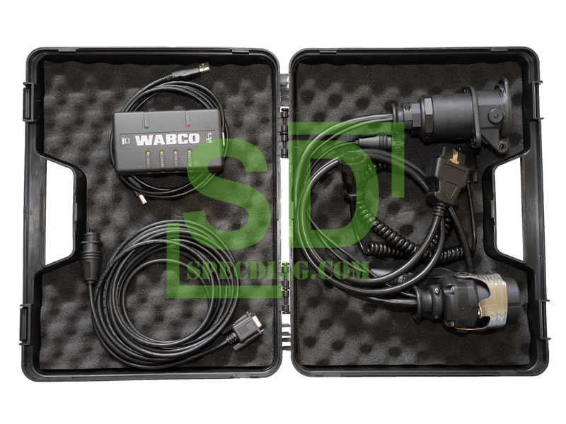 wabco trailer truck bus towing vehicles diagnostic system